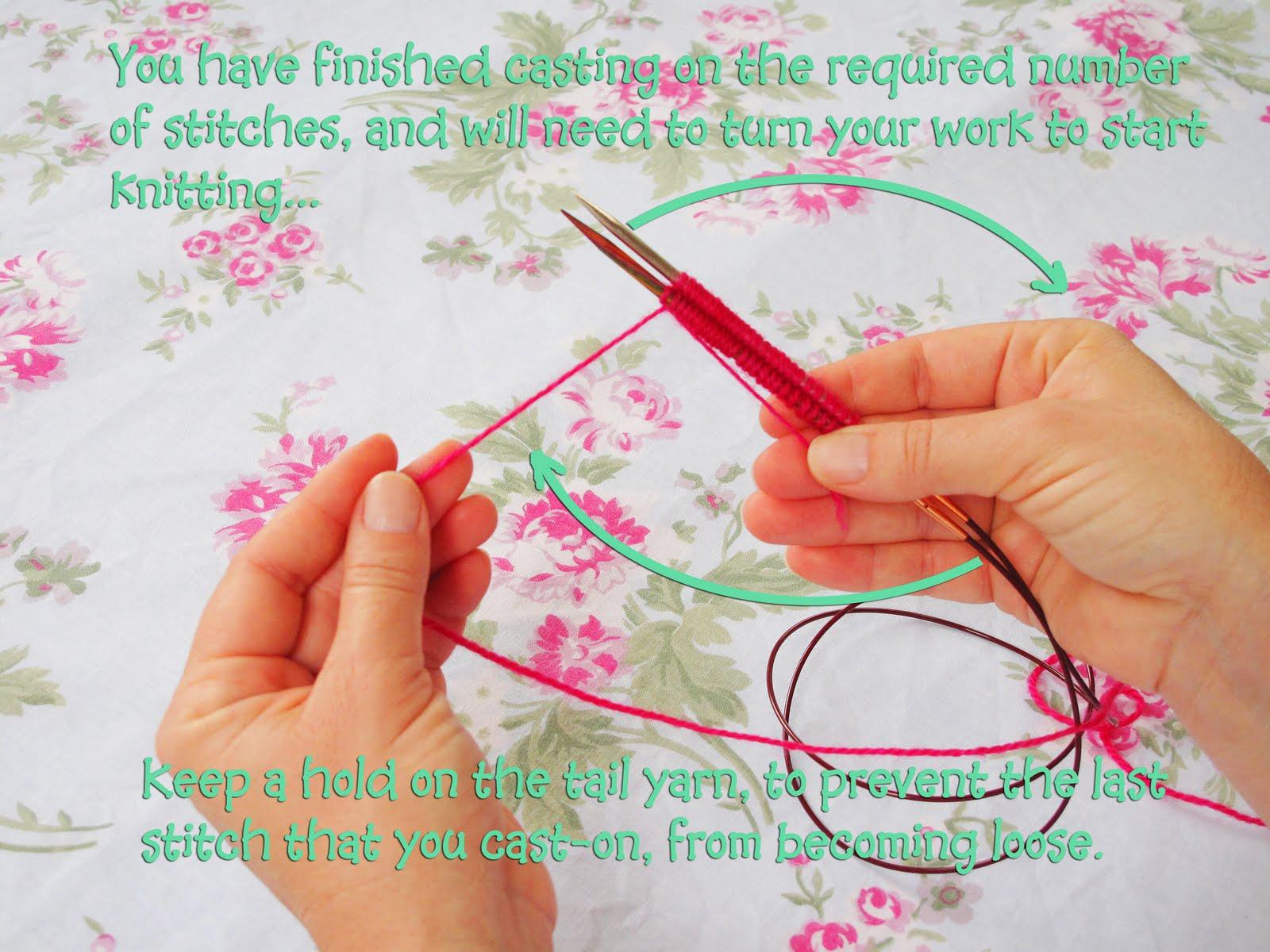 Magic Loop Knitting : Heidi bears magic loop knitting tutorial