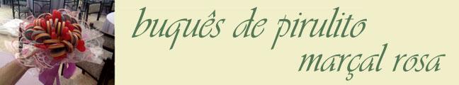 Buquê de Pirulitos