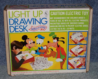 Lightyears To Yesteryear Disney Light Up Drawing Desk