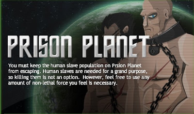 Prison Planet walkthrough.