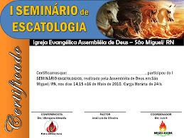 SEMINARIO DE ESCATOLOGIA