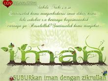 Suburkan iman dengan Zikrullah..