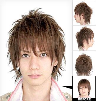 Top Mens Hair 2010 Cool Korean Guys Hairstyles