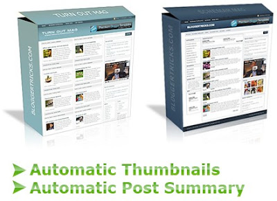 automatic thumbnails and automatic post summary