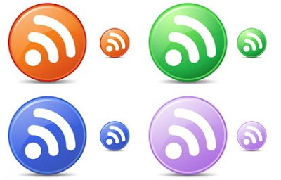 Free Circle RSS Feed Icons