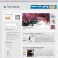 novinture blogger template