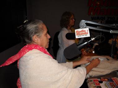 IRMA GARCIA LLEGO A MIAMI DESDE LA INDIA PARA CONVERSAR CON LOS OYENTES DE WAQI.