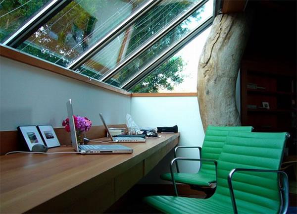 Imagens [Espantosas] Os mais incríveis escritórios em casa  Escritorio2