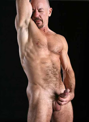 Sexy Hairy Hunky Cool Men: Naked Hairy Gay Sexy Bald Hunks