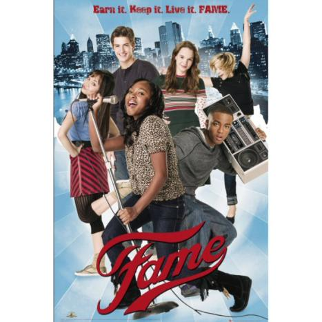 fame  2009 cast
