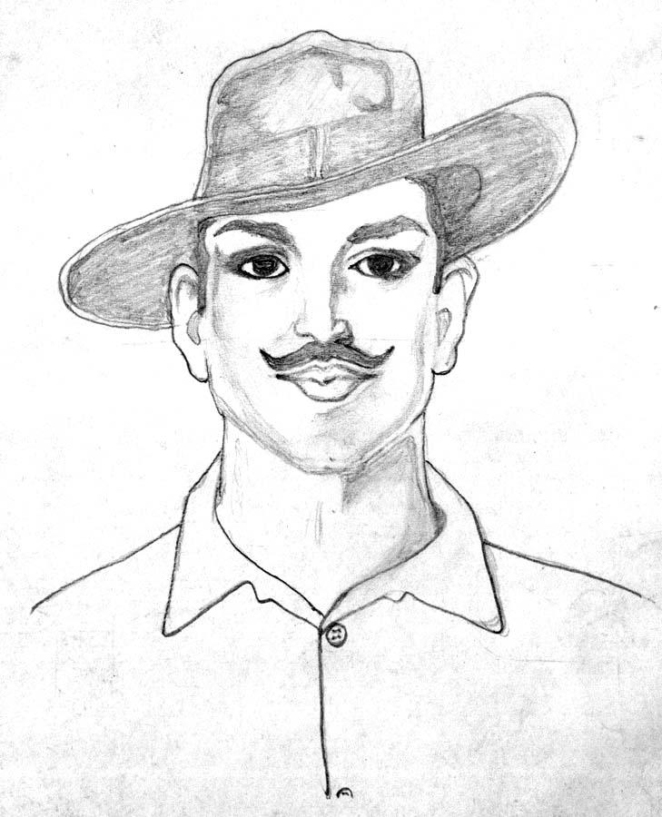 bhagat singh sketch wallpaper - photo #15