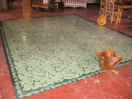 Black dog salvage architectural antiques custom for Vintage linoleum flooring