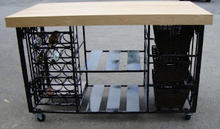 black dog salvage architectural antiques amp custom handcrafted wrought iron kitchen island with by