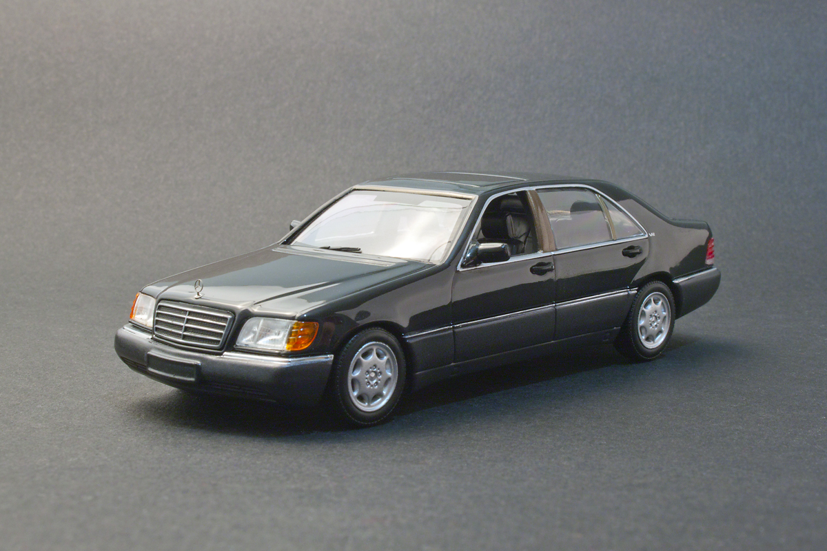 carmodels 1 43 mercedes benz 600sel