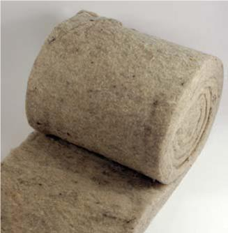 completelybaked sheep wool insulates buildings
