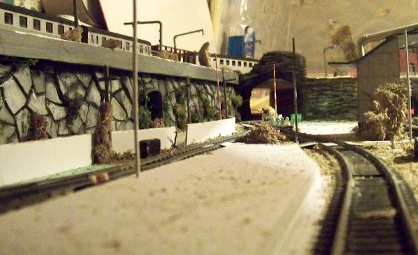 voie ferrée de la ligne 4