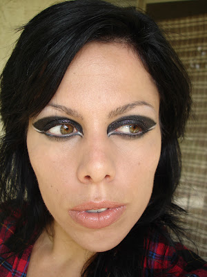 Lady Gaga's VMA '09 Makeup