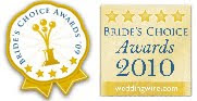 2009, 2010, 2011, 2012, and 2014 Bride's Choice Award