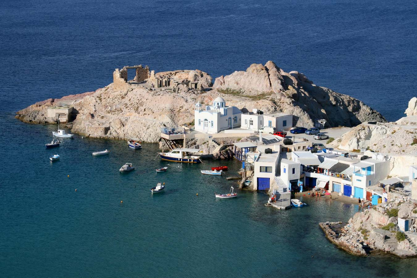 Cyclades Islands In Greece Milos The North Coast