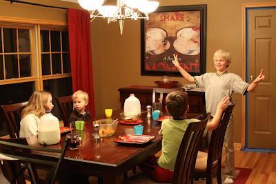 Dinnertime Chaos