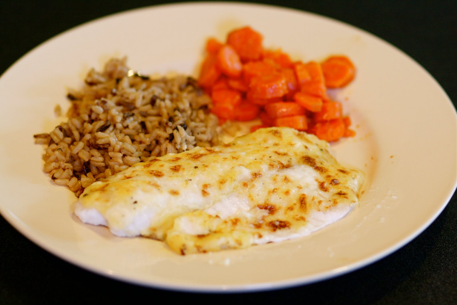 TexasMacks: Broiled Tilapia Parmesan