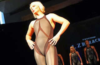 women's swimming shark skin suit