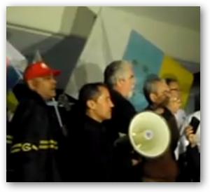 VIDEO MANIFESTACIÓN GUAGÜEROS 19/02/09 LECTURA DE MANIFIESTO