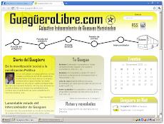 GuagüeroLibre.com: la nueva herramienta online del Colectivo Independiente de Guaguas Municipales.