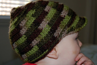 Boy's Beanie Hat Crochet Pattern - Crafts - free, easy, homemade