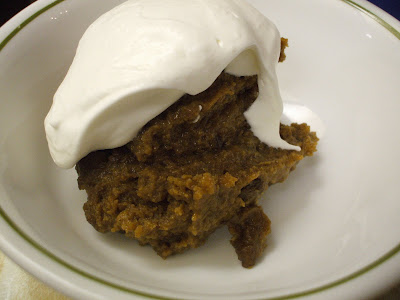 Crumb Spice Pudding