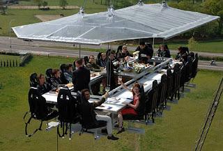Dinner In the Sky Restaurant (Belgium)