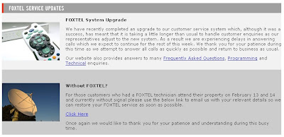 Australia: Foxtel's faulty customer service – 1 week. | @SilkCharm ...
