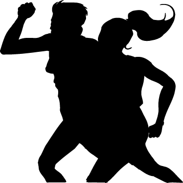 "Selected Clipart: ""couple_running.gif"" Now that our No Boundaries Friends"
