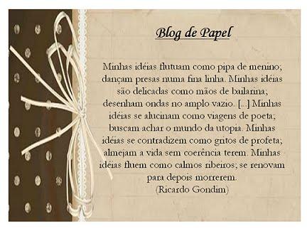 Blog de papel