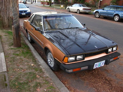 Old Parked Cars 1980 Datsun 200sx Coupe
