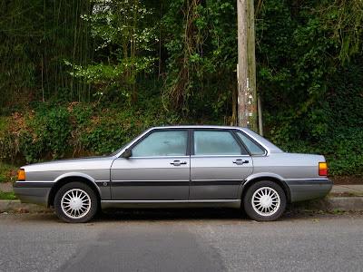 Old Parked Cars 1985 Audi 4000s Sedan