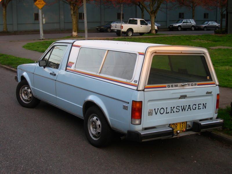 Old Parked Cars 1982 Volkswagen Rabbit Lx Diesel Pickup