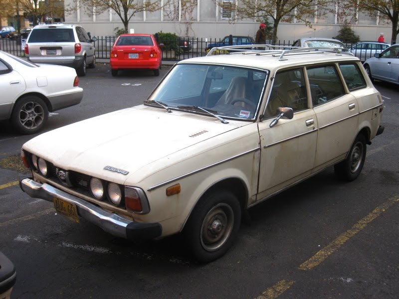 Old Parked Cars 1978 Subaru Dl Wagon Quot Series Ii Quot