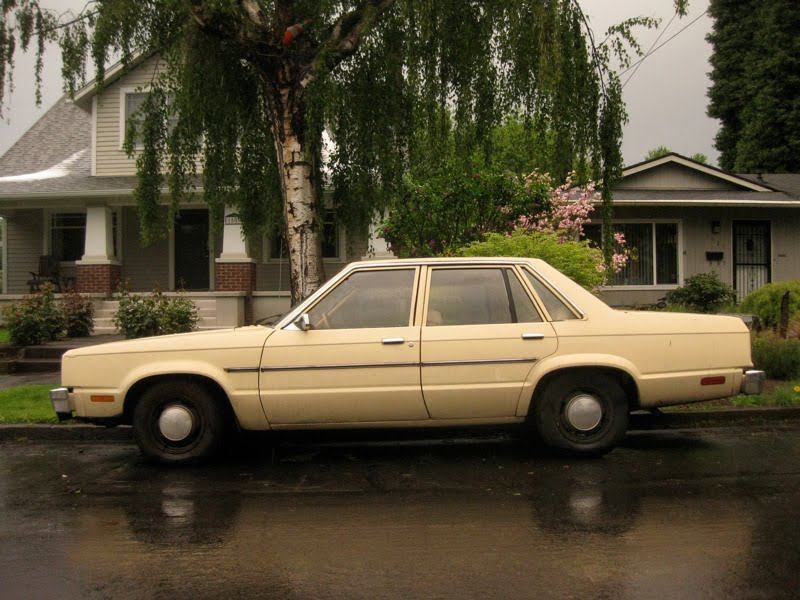 Old Parked Cars Ford Fairmont Sedan