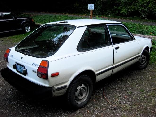 Old Parked Cars 1981 Toyota Tercel Sr5 Hatchback