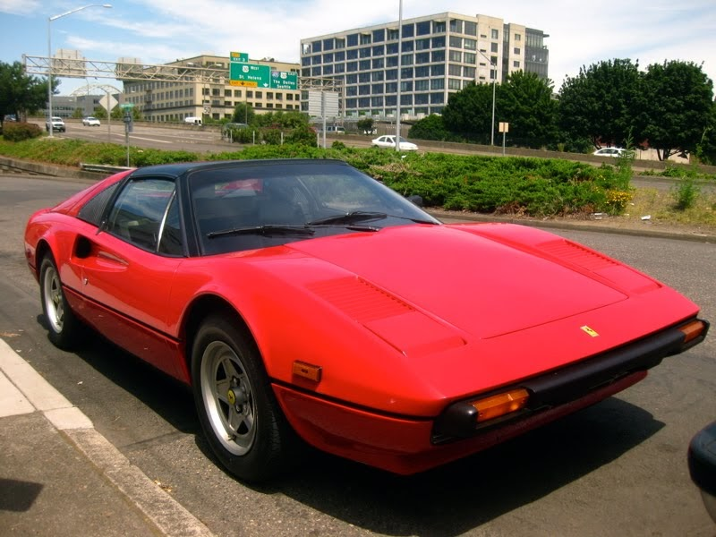 old parked cars 1982 ferrari 308 gtsi targa. Black Bedroom Furniture Sets. Home Design Ideas