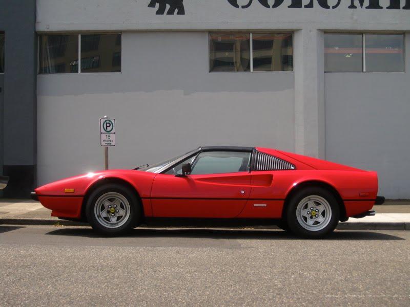 Ferrari 308 Gtsi. 1982 Ferrari 308 GTSi Targa.