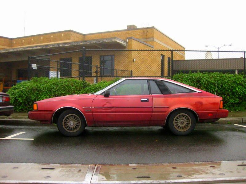 Old Parked Cars 1982 Datsun 200sx Hatchback