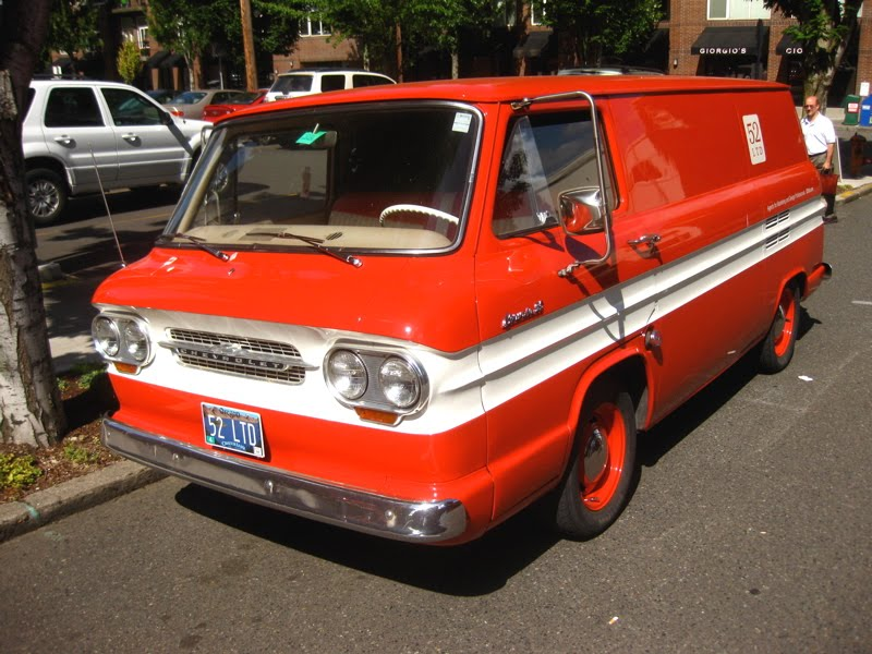 1962 Chevrolet Corvair 95 Panel Van.