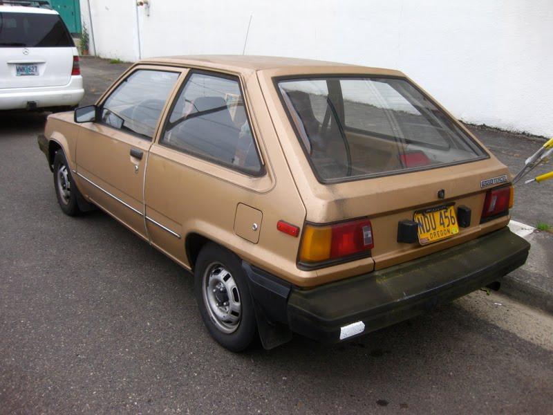 Old Parked Cars 1983 Toyota Tercel Hatchback