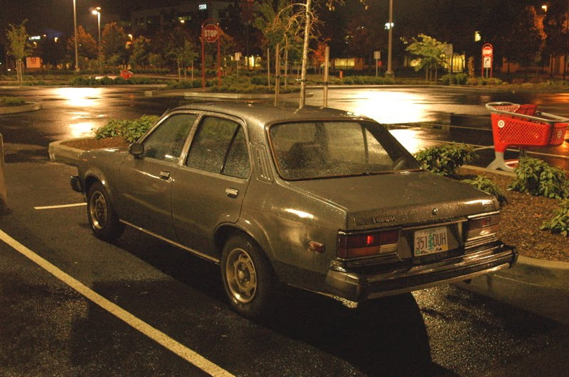 1981 Isuzu I-Mark Diesel Sedan
