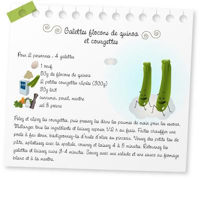 galettes flocons de guiroa et courgettes recette_galettesfloc