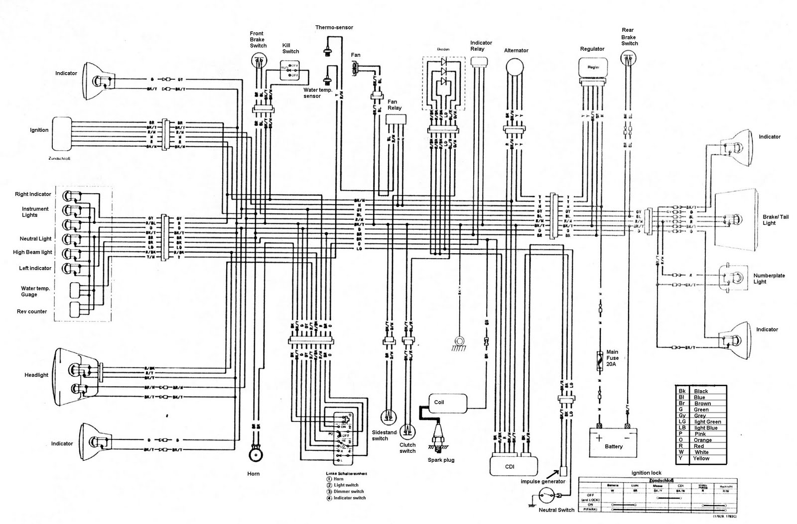 klr250d 2005 klr 650 wiring diagram klr 650 ignition wiring \u2022 wiring EX500 Connector Picture at fashall.co