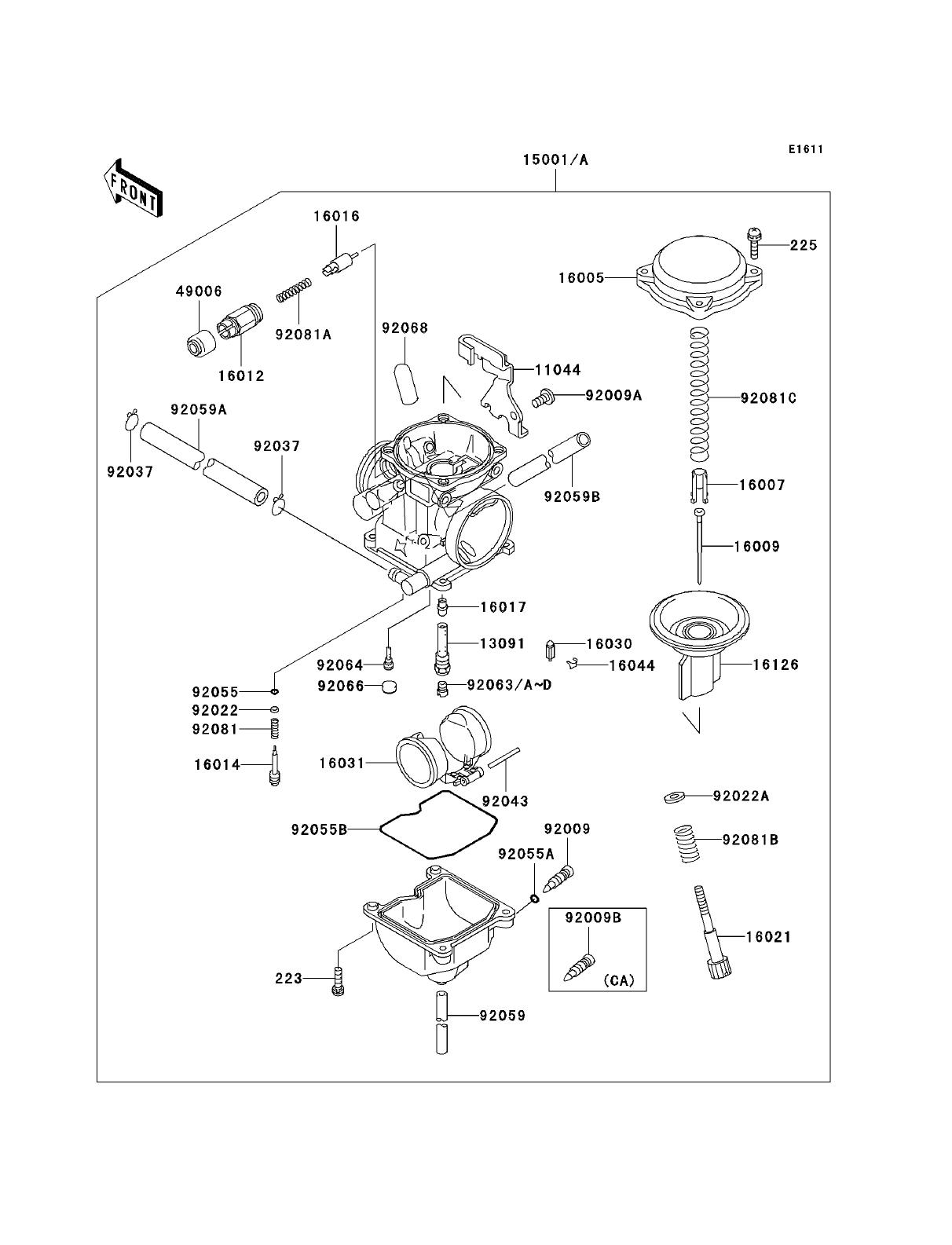7els_parts_diagram_carburetor kawasaki klr250 parts diagrams blogs 2005 klr 650 wiring diagram at bayanpartner.co