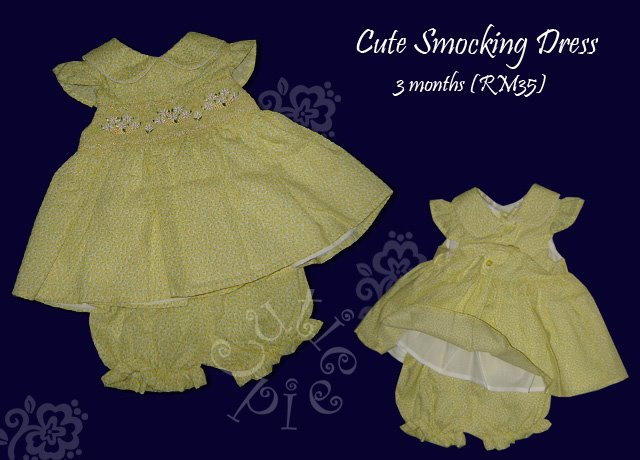 Cute Smocking Dress